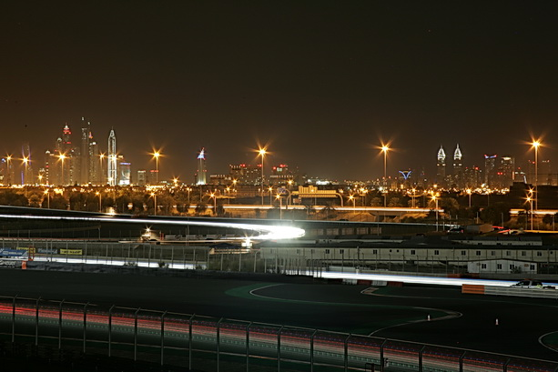 613 Dubai by night